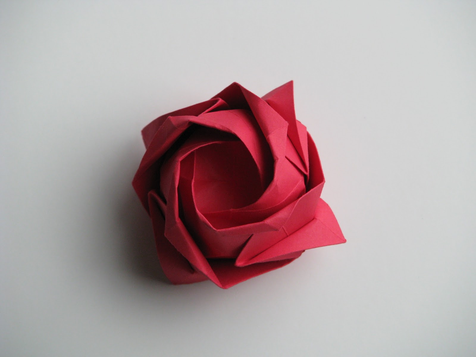 FLOWER ROSE ORIGAMI « EMBROIDERY & ORIGAMI - photo#5