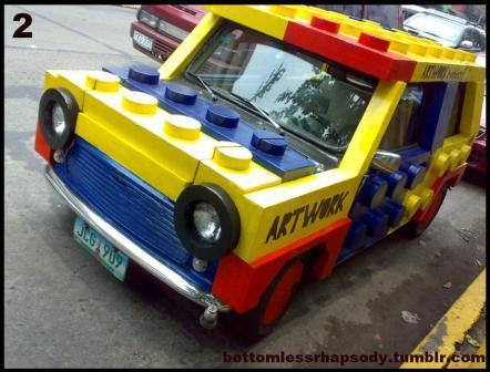 blxbrx (=black's bricks) blog: Have you ever made a LEGO car