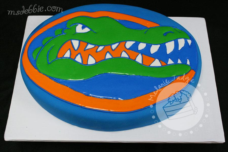 Florida Gator Cake Designs