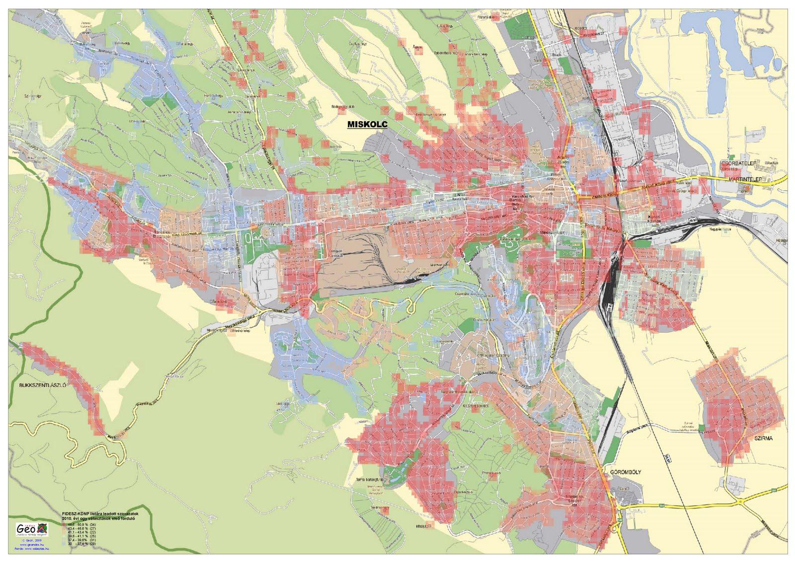 tornyospálca térkép Térképek: 2010 07