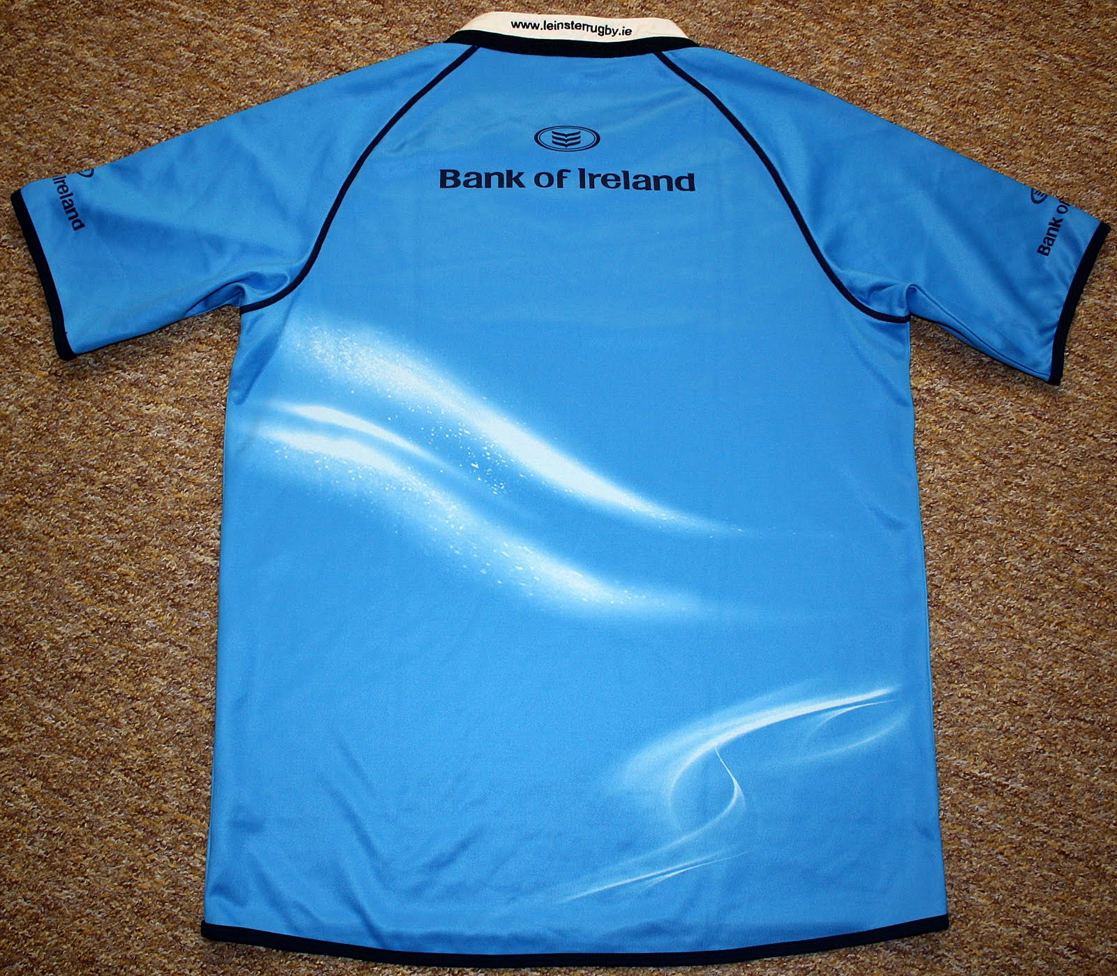 75163547bcf Leinster SS Pro Away 2009/2010 Rugby Jersey made by Canterbury. Official  rugby jersey released for 2009/2010 Magners league season. Canterbury,  Leinster ...