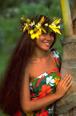 Tahitian Women Photos 102