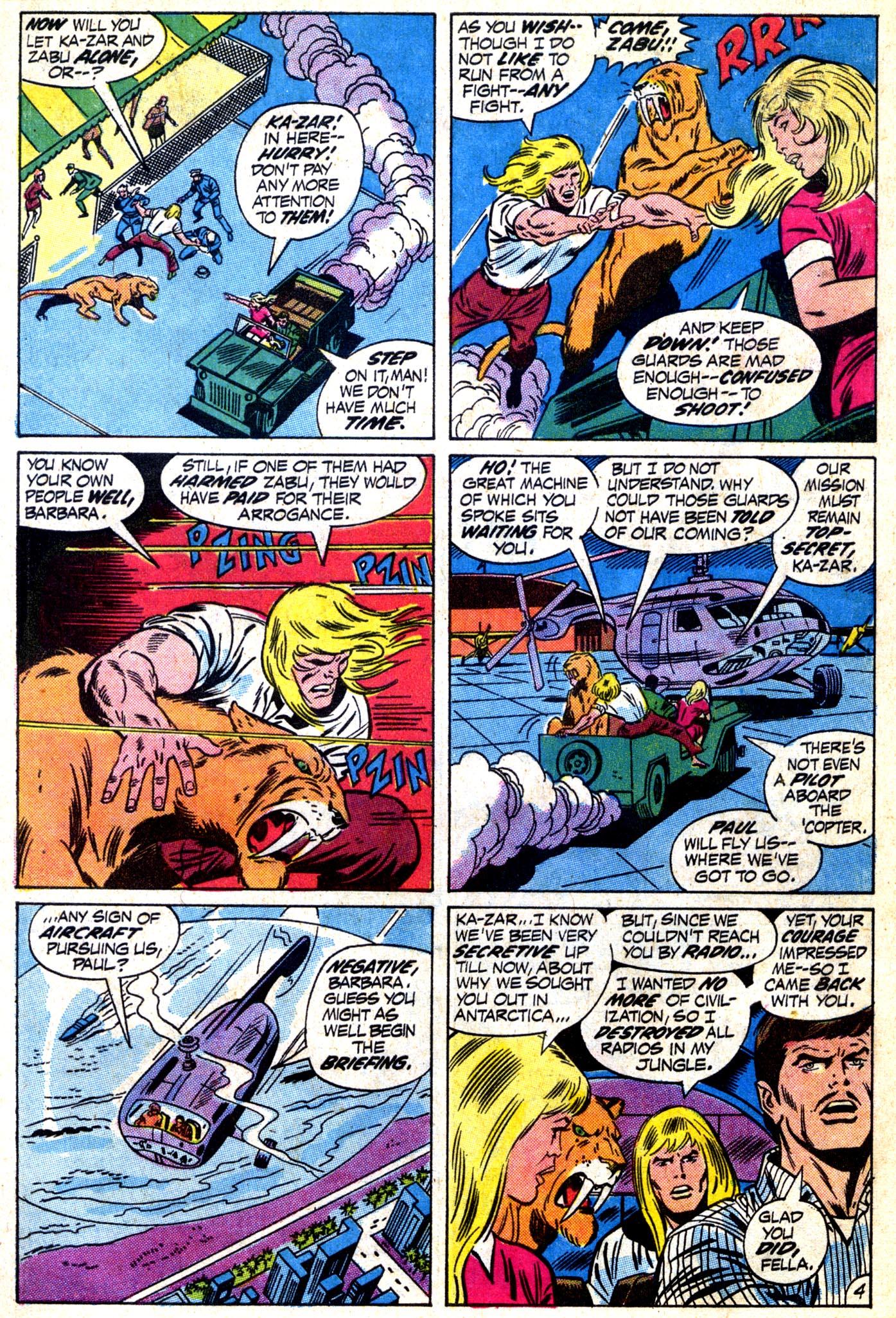 Read online Astonishing Tales (1970) comic -  Issue #12 - 5