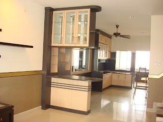 outstanding living room partition designs | Interior Design & Renovation Kuala Terengganu: Double ...
