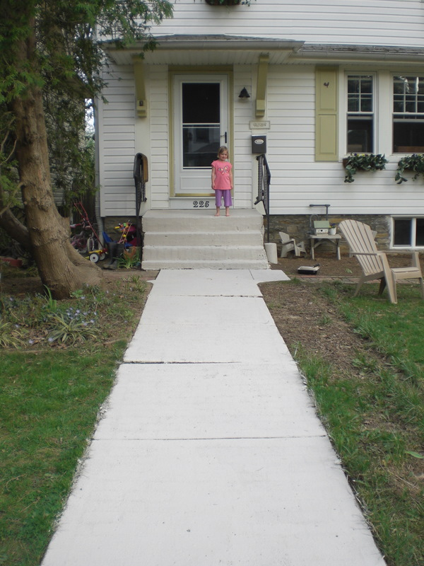 Painted Brick Walkway The Painted Home By Denise Sabia