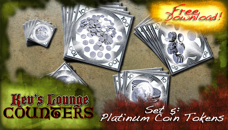 Kev's Lounge: Free Platinum Coin Counters for D&D and other Fantasy RPGs