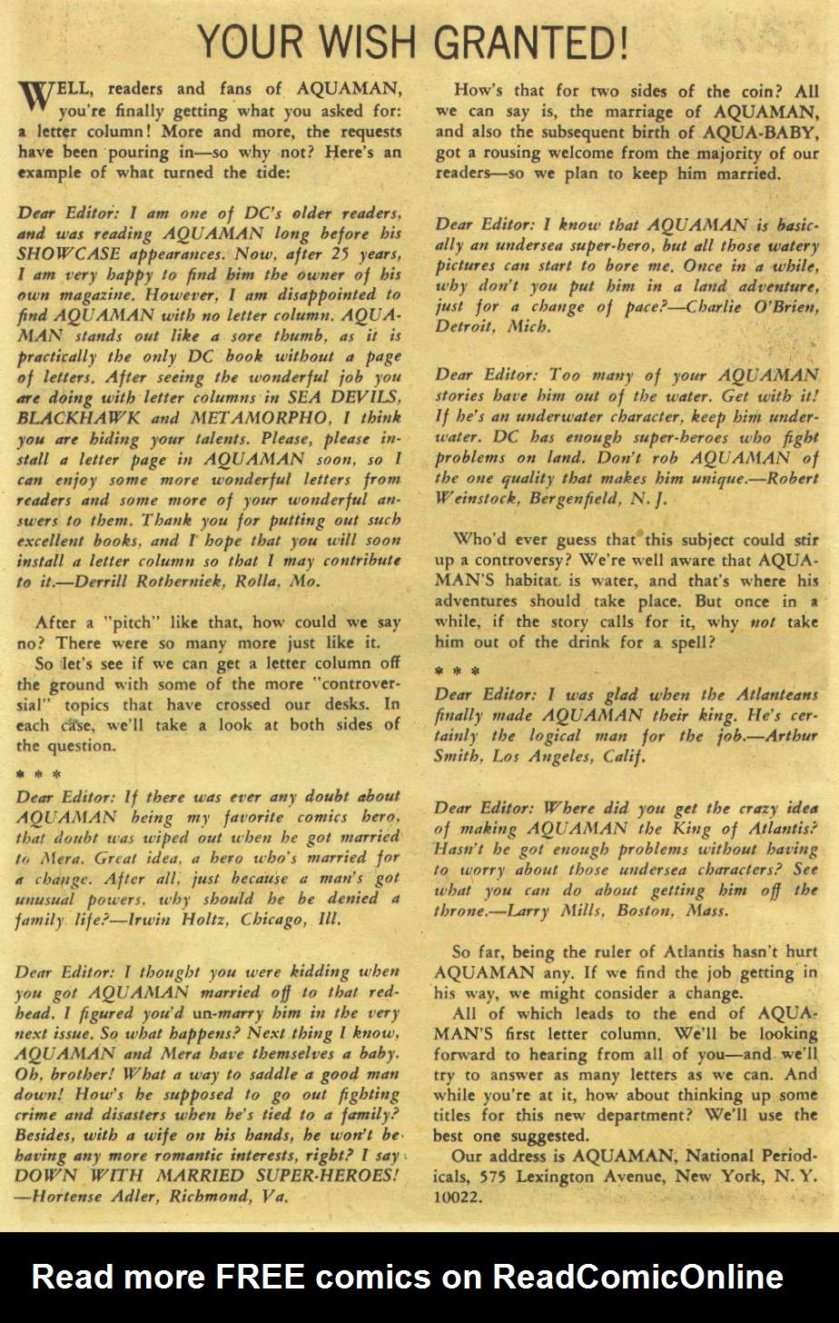 Aquaman (1962) Issue #26 #26 - English 14