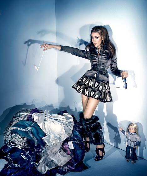 Jessica Alba High Fashion Girl
