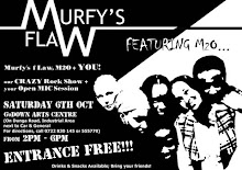 Poster for Murfy's fLaW October 6th Gig