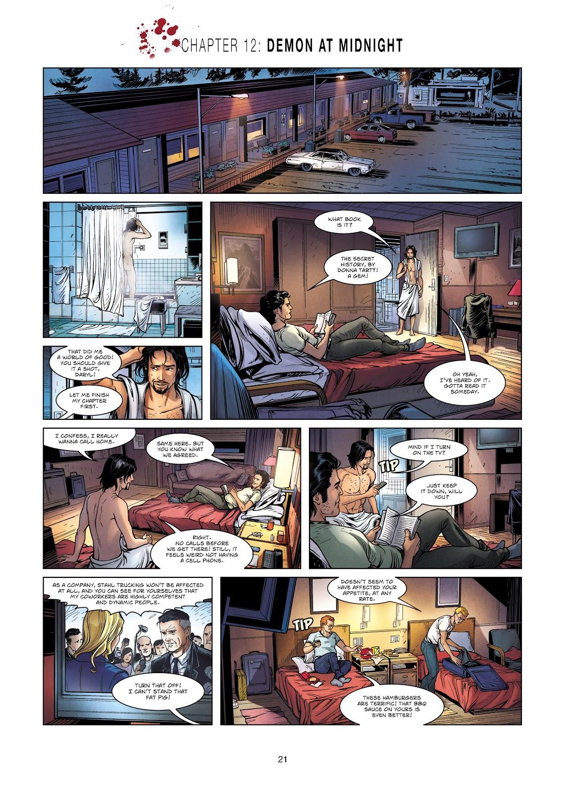 Read online Vigilantes comic -  Issue #2 - 21