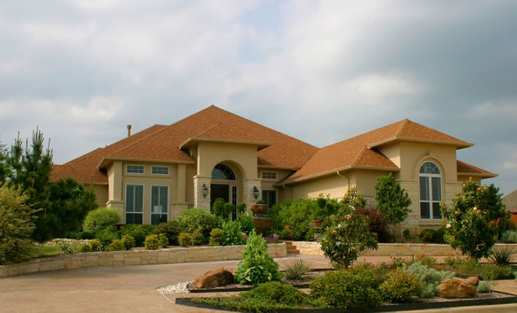 Luxury Home Gardens: MODERN FRONT YARD LANDSCAPING AND ... on Luxury Front Yard Landscape id=39499