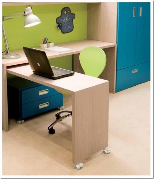 Kids Room Desk: NURSERY AND KIDS ROOM DESIGN: CONTEMPORARY TEEN ROOM DESIGN