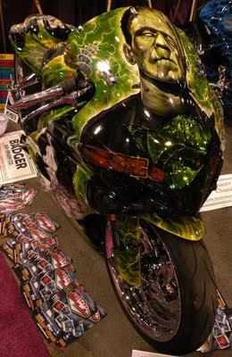 The Reaper Airbrushing Motorbike Car Modification 2011