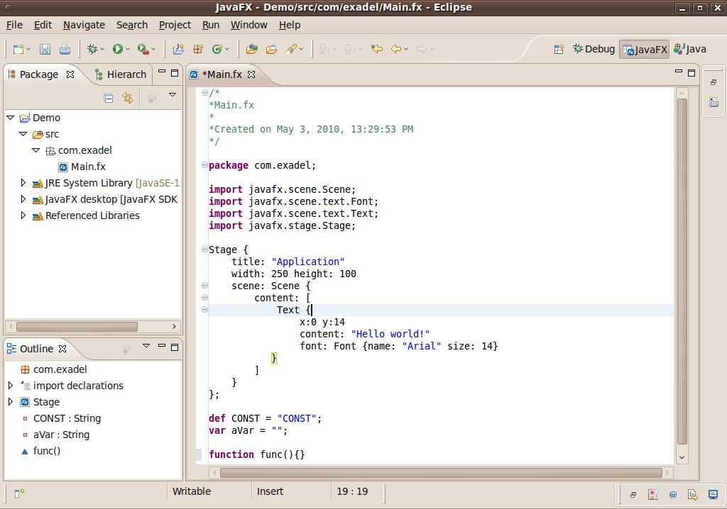 Software Development Journey: JavaFX Support In Eclipse