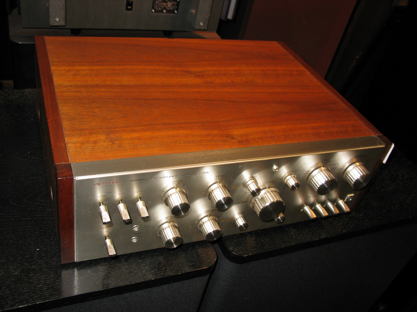 Recycled Stereo Plus: Pioneer QC-800a Classic Quad Preamp ON