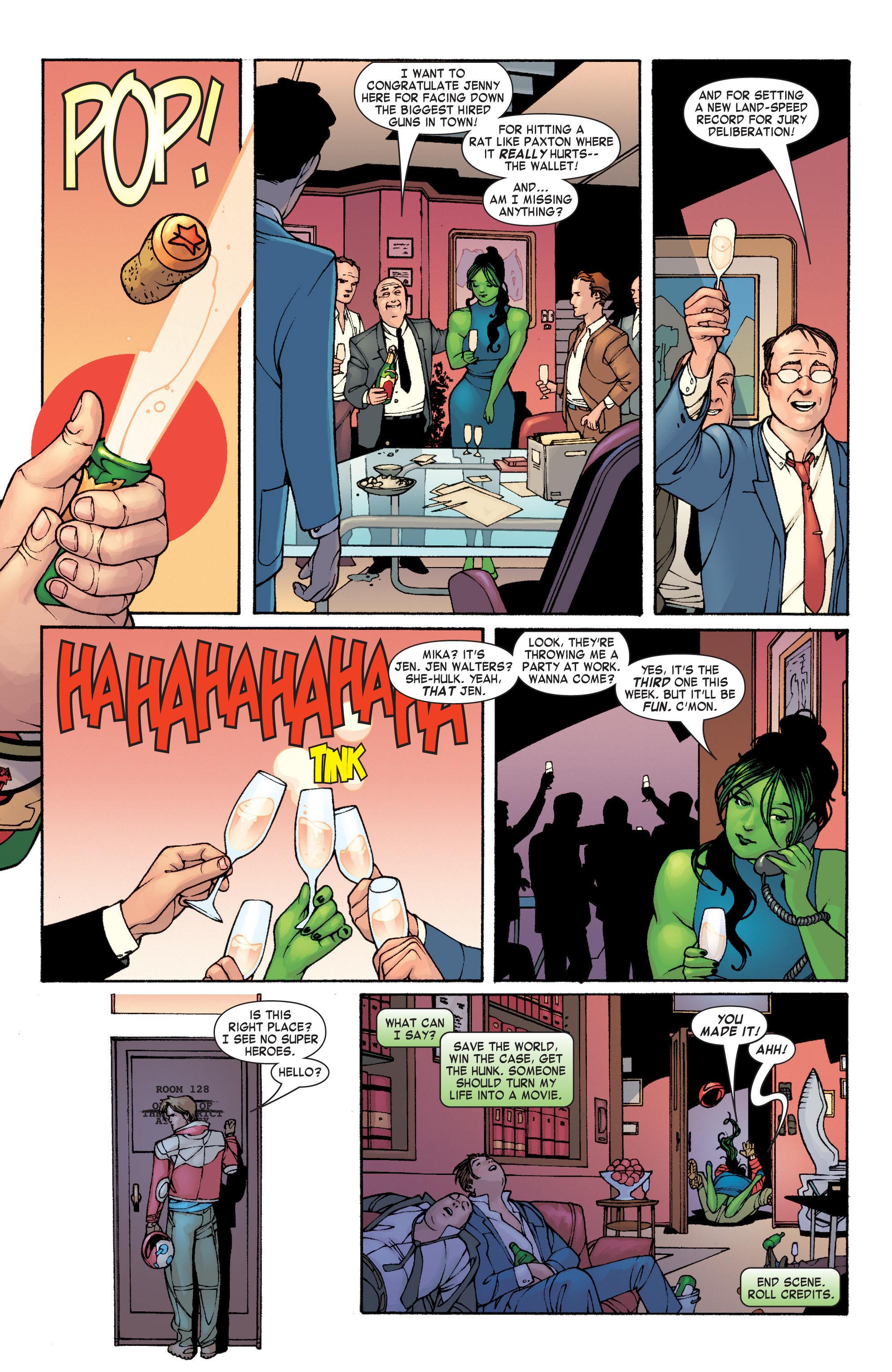 Read online She-Hulk (2004) comic -  Issue #1 - 14