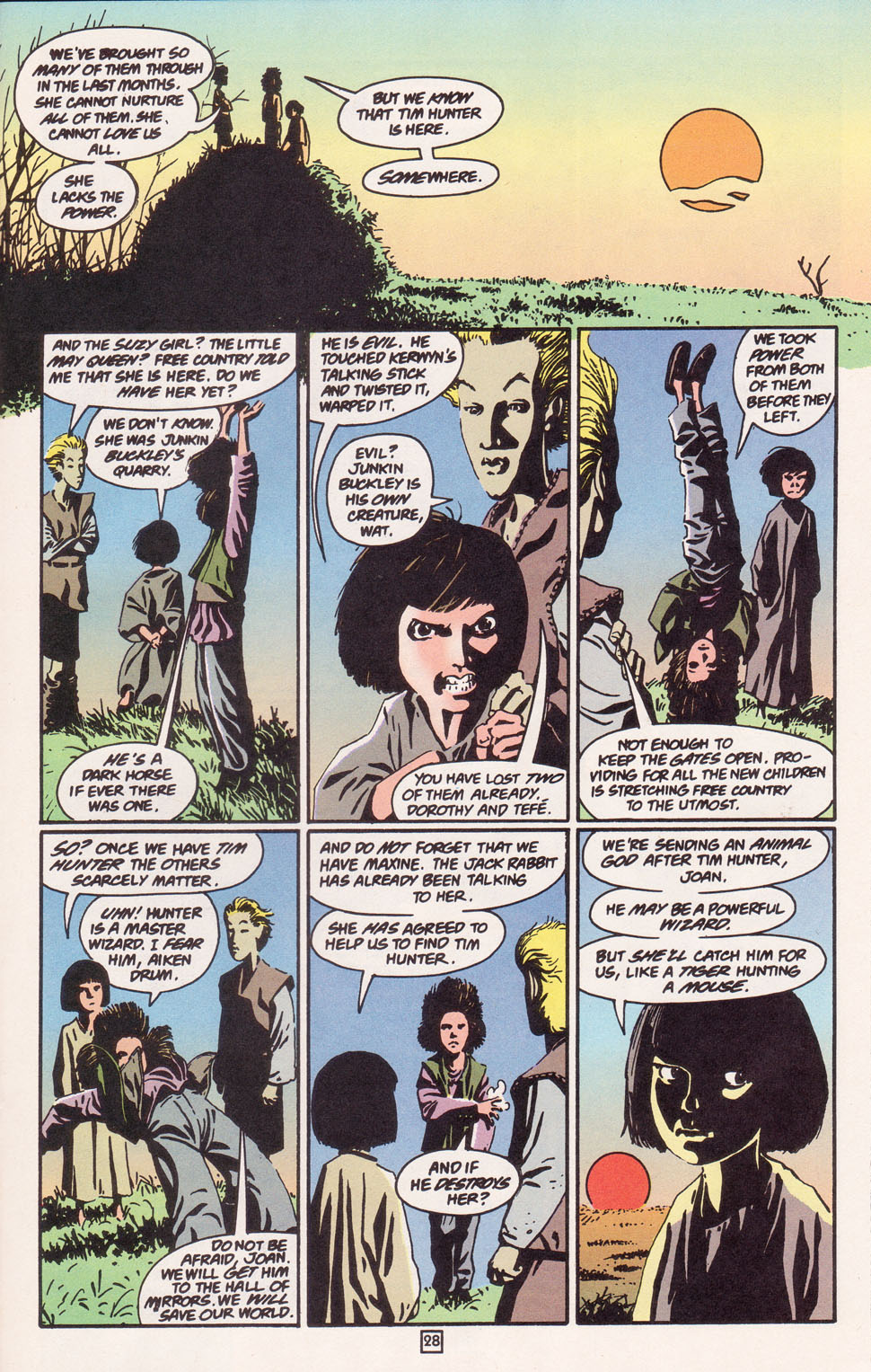 Read online The Children's Crusade comic -  Issue #2 - 28