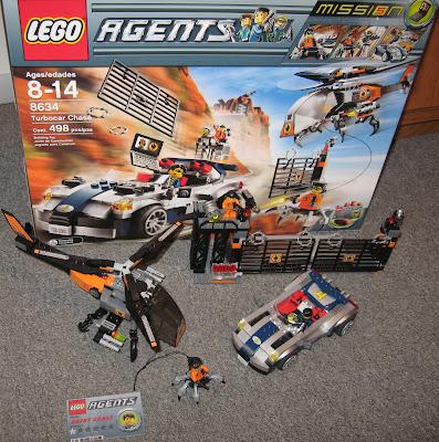 Sigma 6 Telebase: Lego Agents Mission 5: Turbo Car Chase ...