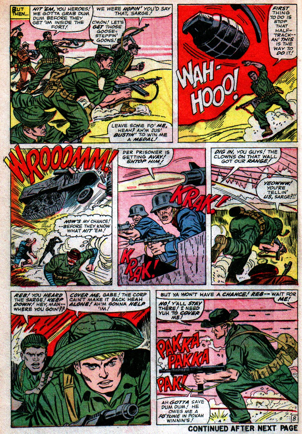 Read online Sgt. Fury comic -  Issue #16 - 12