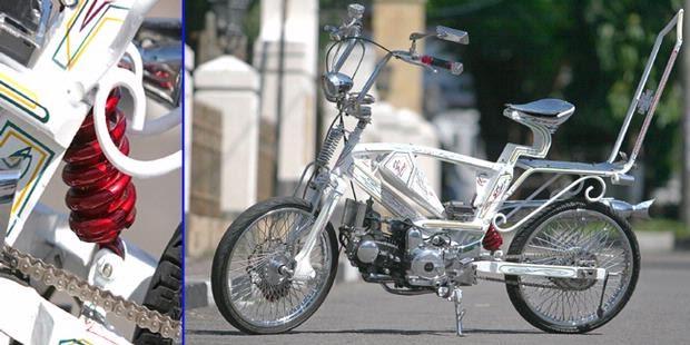 Displayer Big Motorcycle: MODIFIKASI Honda Supra Fit