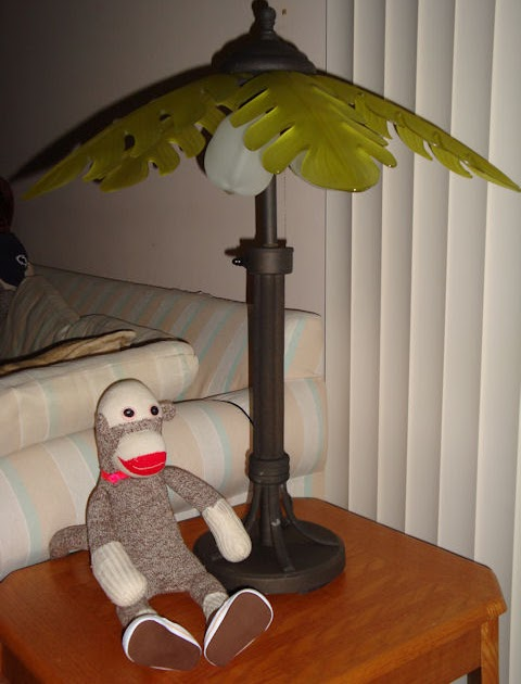 Monkey S House New Palm Tree Lamps