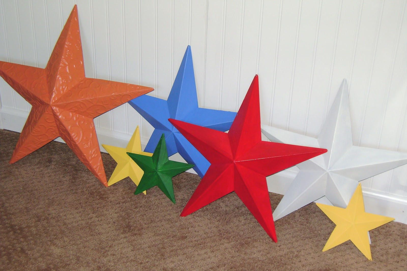 Design Aholic Power Of Paint Tin Stars