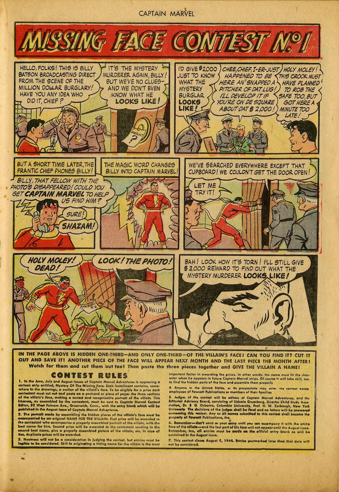 Captain Marvel Adventures issue 36 - Page 27