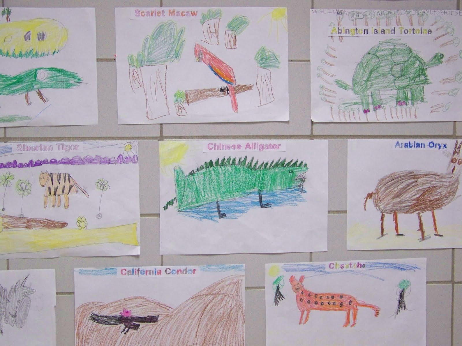 Grinnell Newburg Elementary Kindergarten Students Study