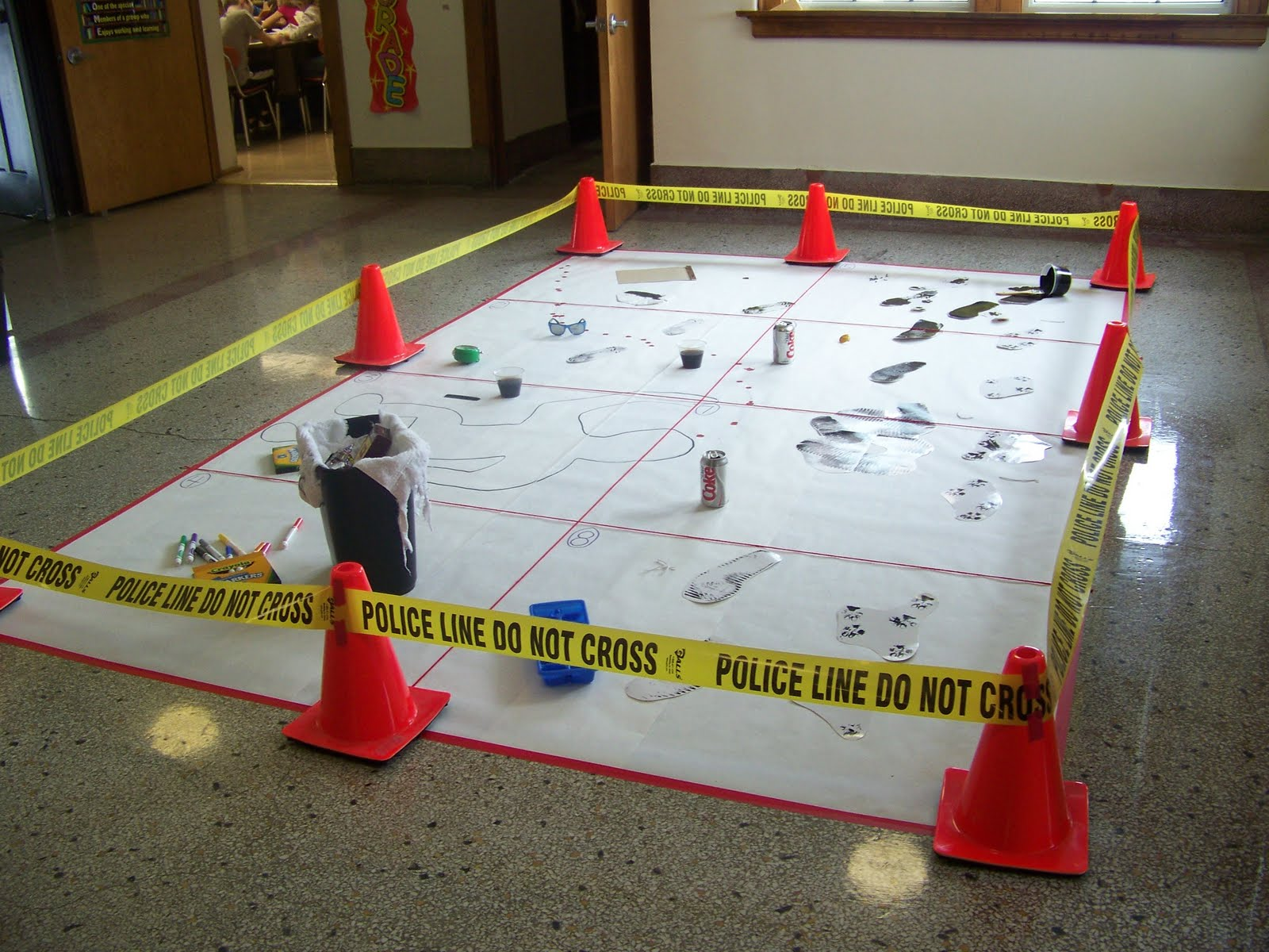 Grinnell Newburg Elementary 4th Grade Mystery Festival
