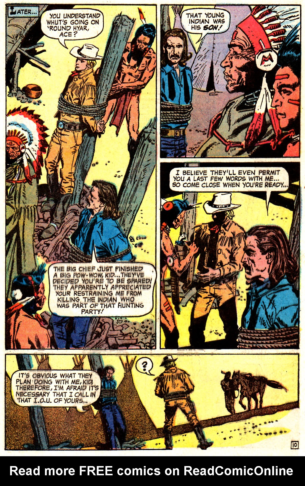 Read online All-Star Western (1970) comic -  Issue #7 - 13