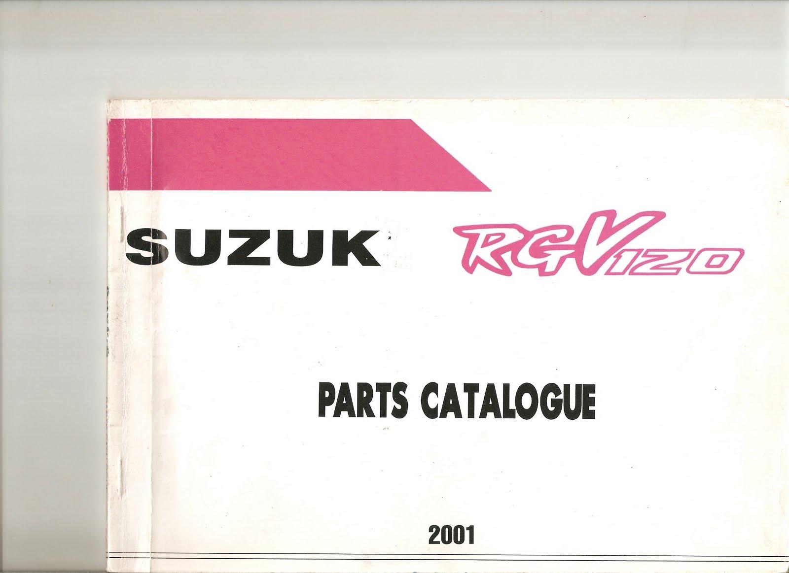 katalog suzuki satria 120r