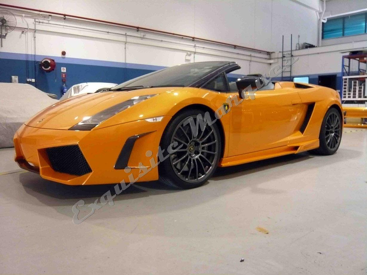 Exquisite Marques Lamborghini Gallardo Spyder Veilside Premier Body