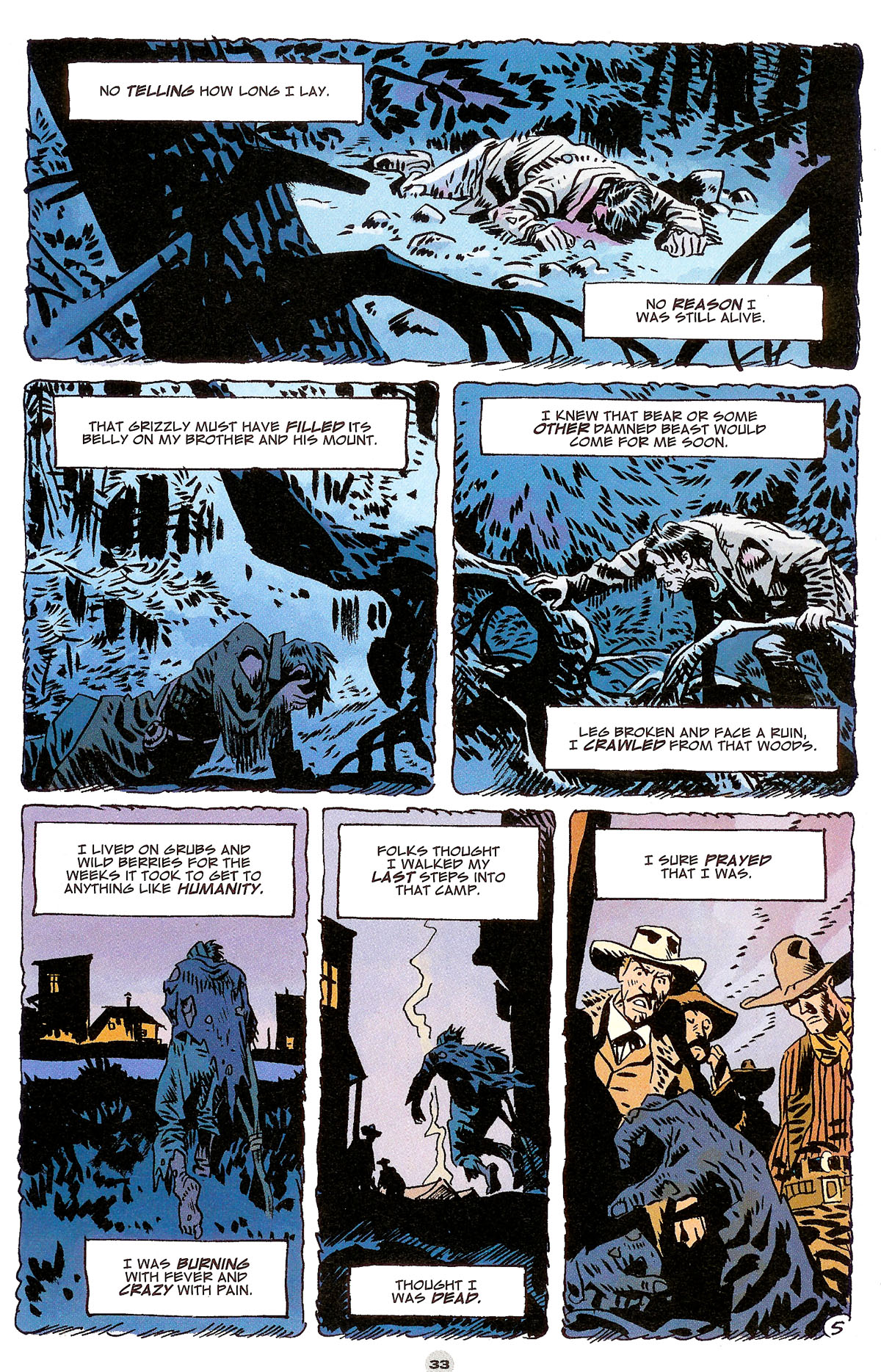 Read online Solo (2004) comic -  Issue #6 - 34