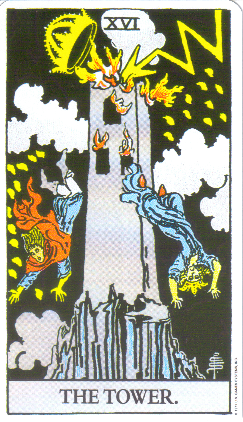 Anthony Mezzapelle: Tarot Cards : The Tower