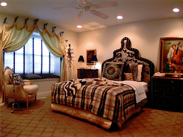 luxury bedroom interior design | Luxury Home Interior Design: Elegant Bedroom Family