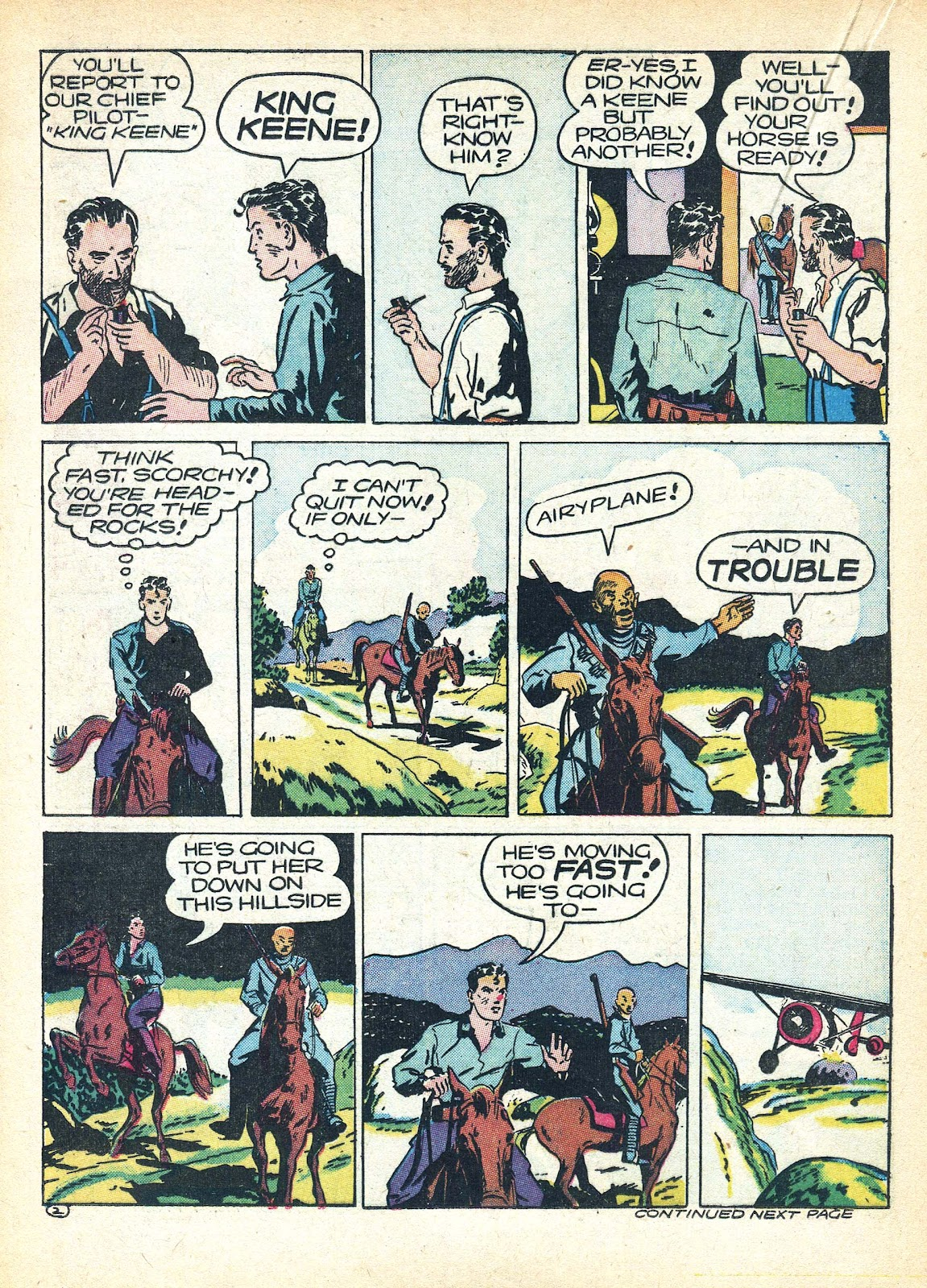 Read online Famous Funnies comic -  Issue #95 - 37