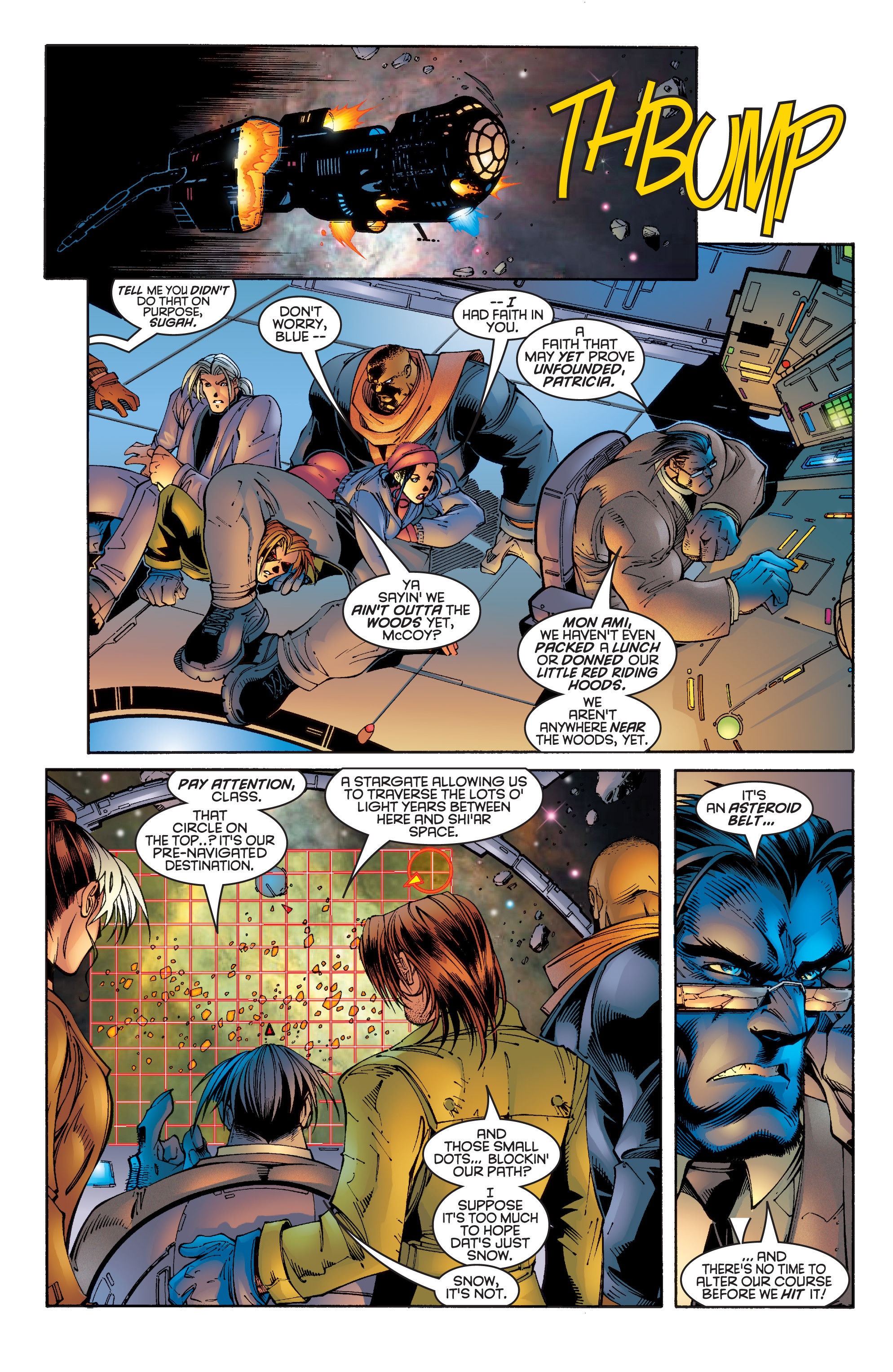 Read online Uncanny X-Men (1963) comic -  Issue #342 - 6