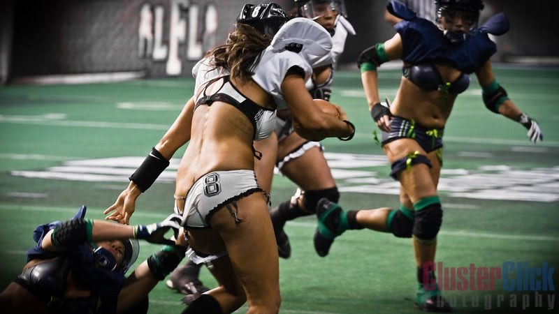 League wardrobe lingerie football ass malfunction