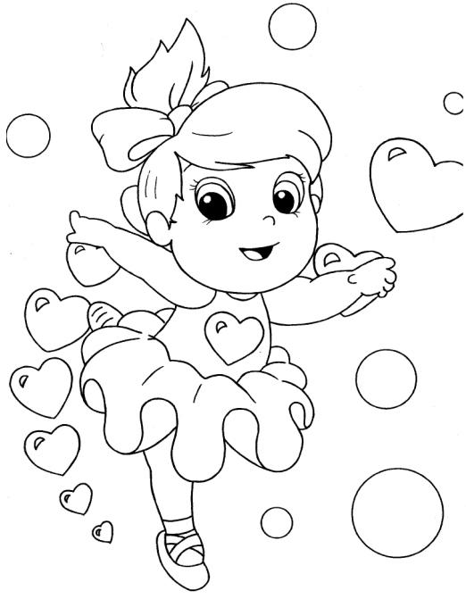 Desenhos Para Pintar Meninas Bailarinas Desenhos Preto E Branco