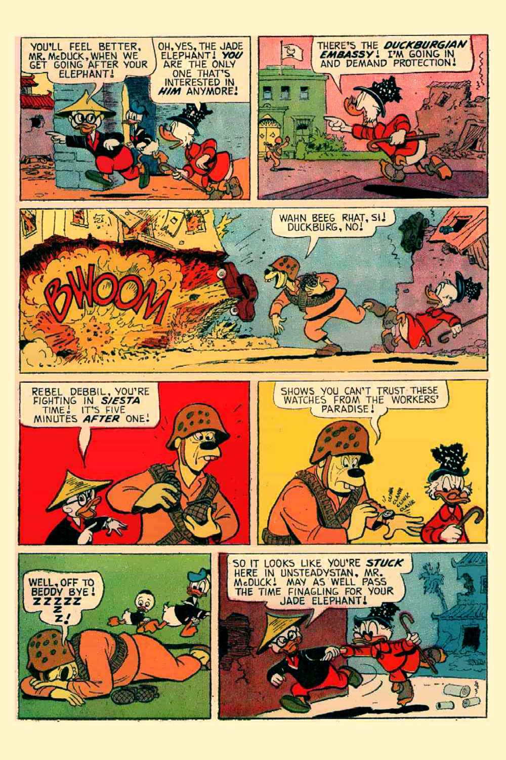 Read online Uncle Scrooge (1953) comic -  Issue #64 - 10