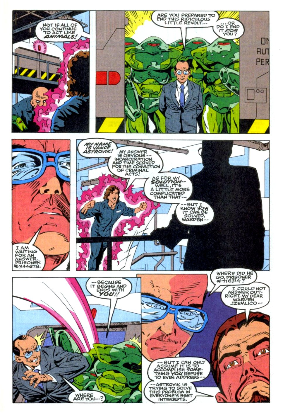 The New Warriors Issue #36 #40 - English 20