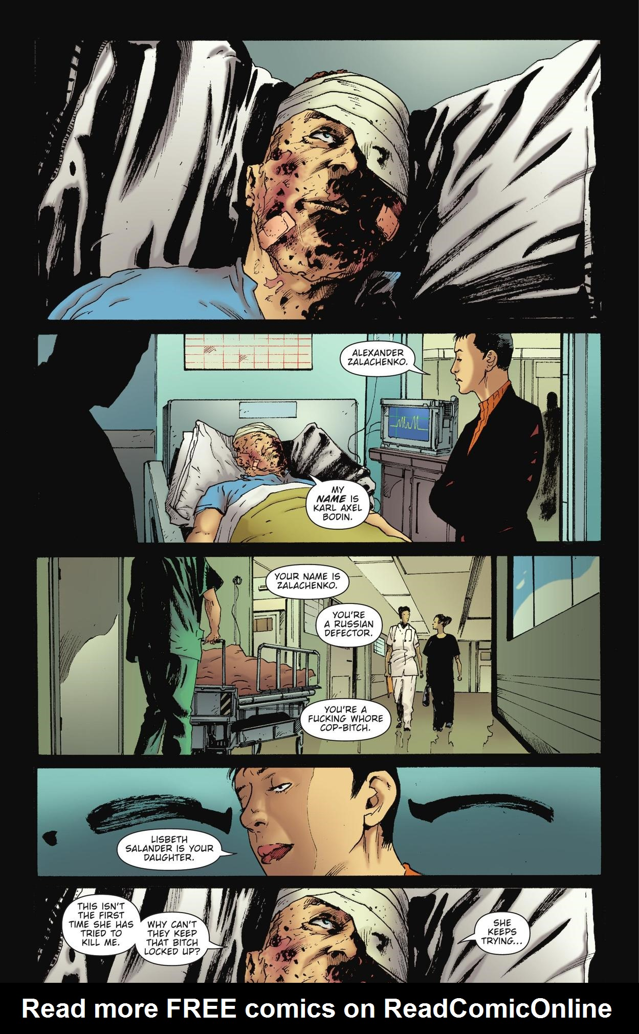 Read online The Girl Who Kicked The Hornet's Nest comic -  Issue # TPB - 31