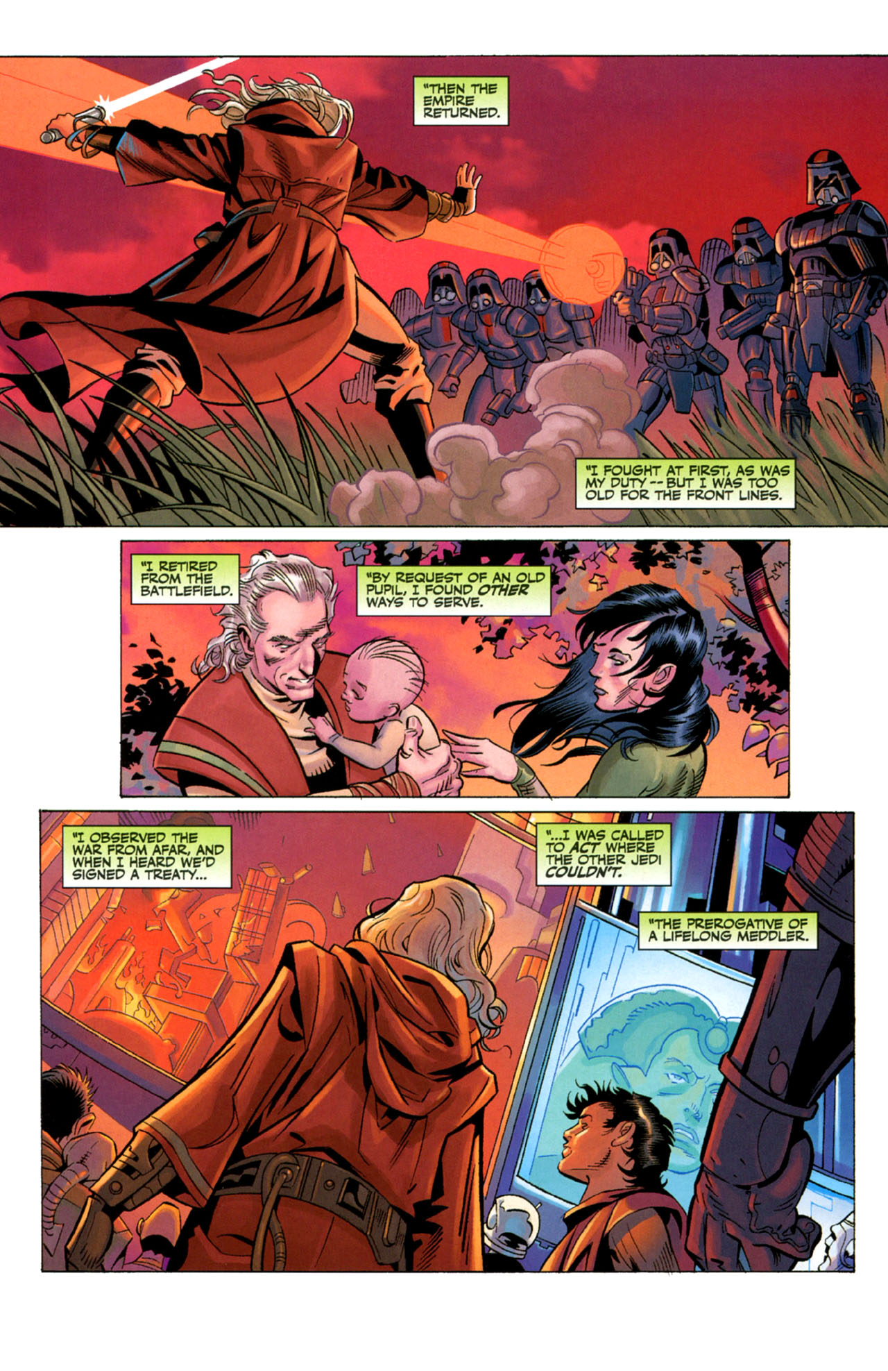 Read online Star Wars: The Old Republic - The Lost Suns comic -  Issue #4 - 4