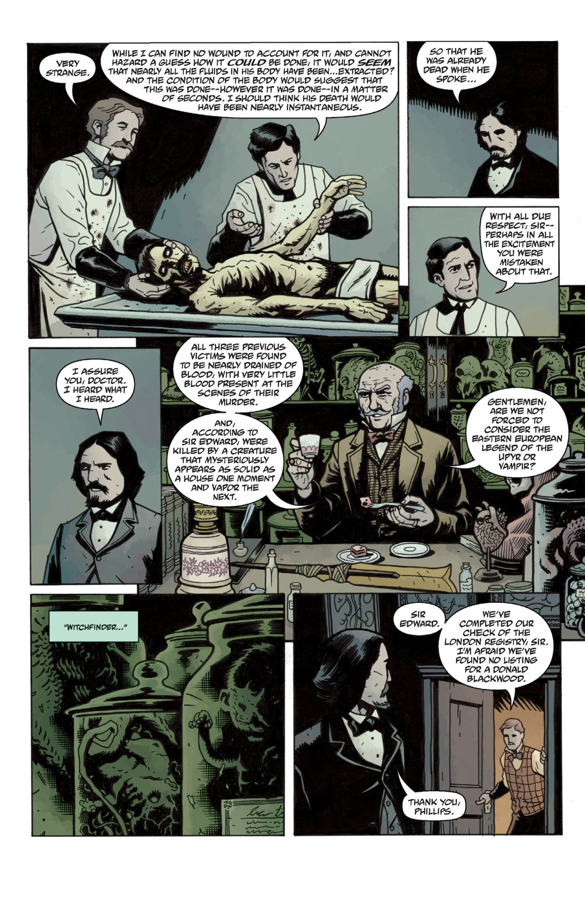 Read online Sir Edward Grey, Witchfinder: In the Service of Angels comic -  Issue # TPB - 24
