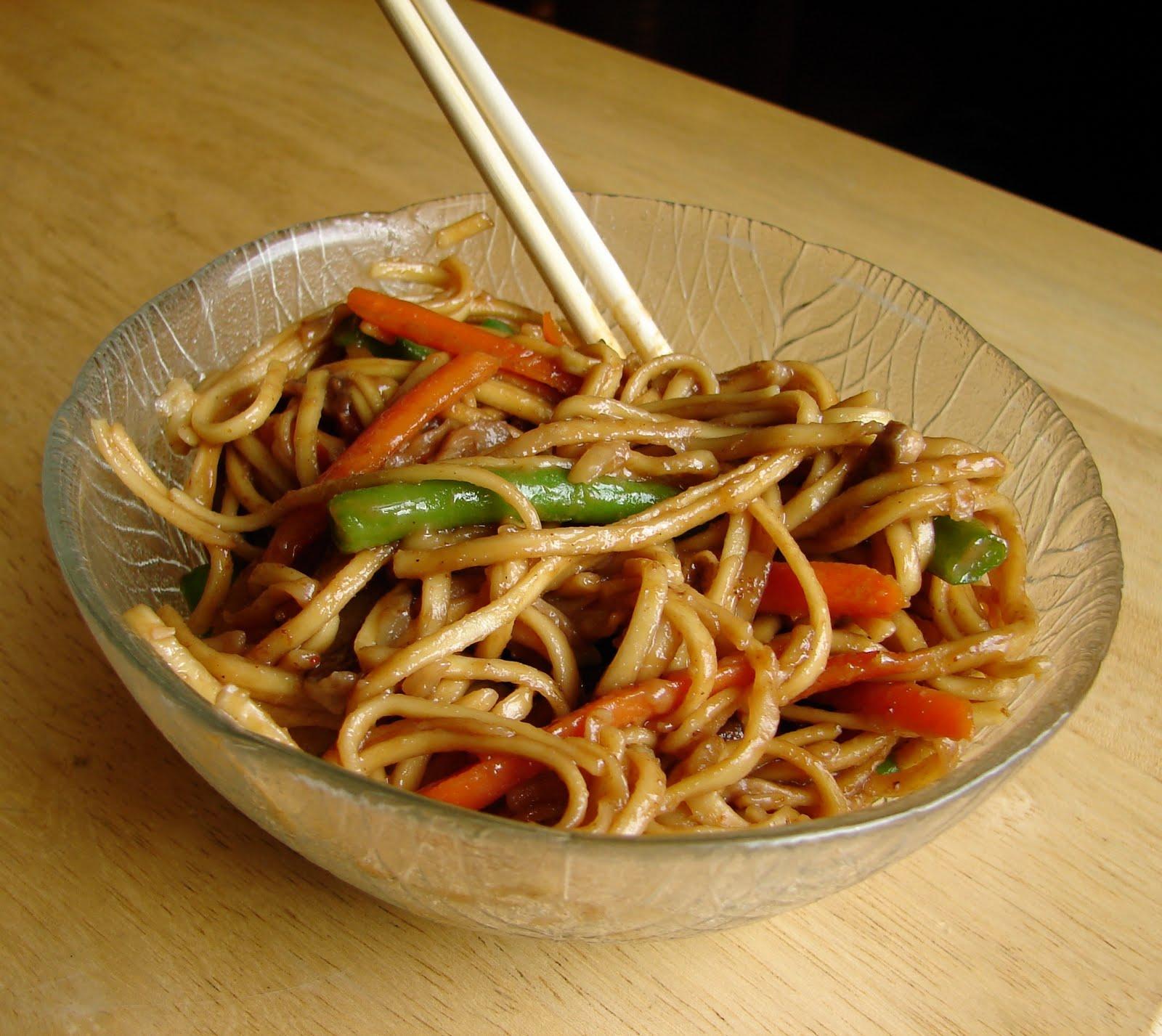 Nummy Kitchen: Giada's Vegetable Chow Mein