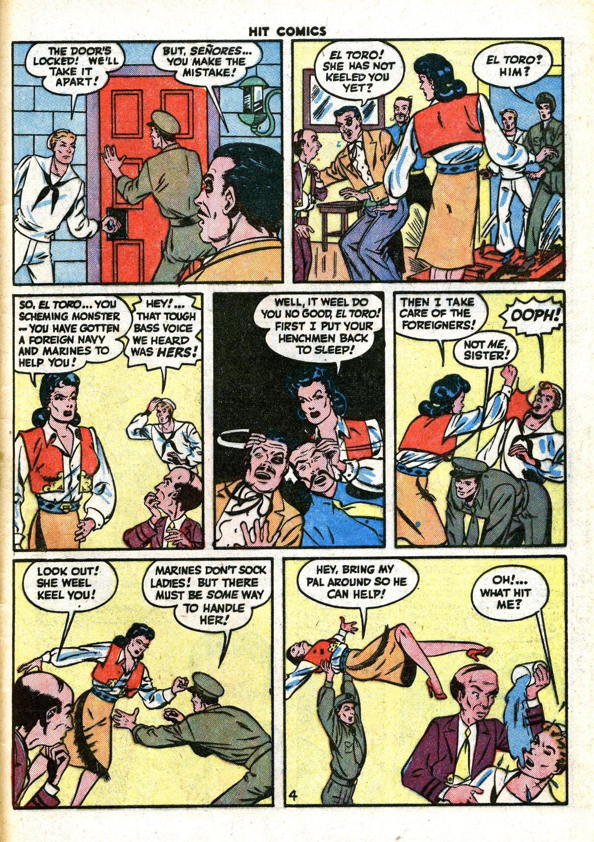 Read online Hit Comics comic -  Issue #41 - 49