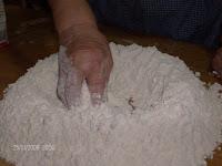 volcan de harina de trigo masa para pizzas