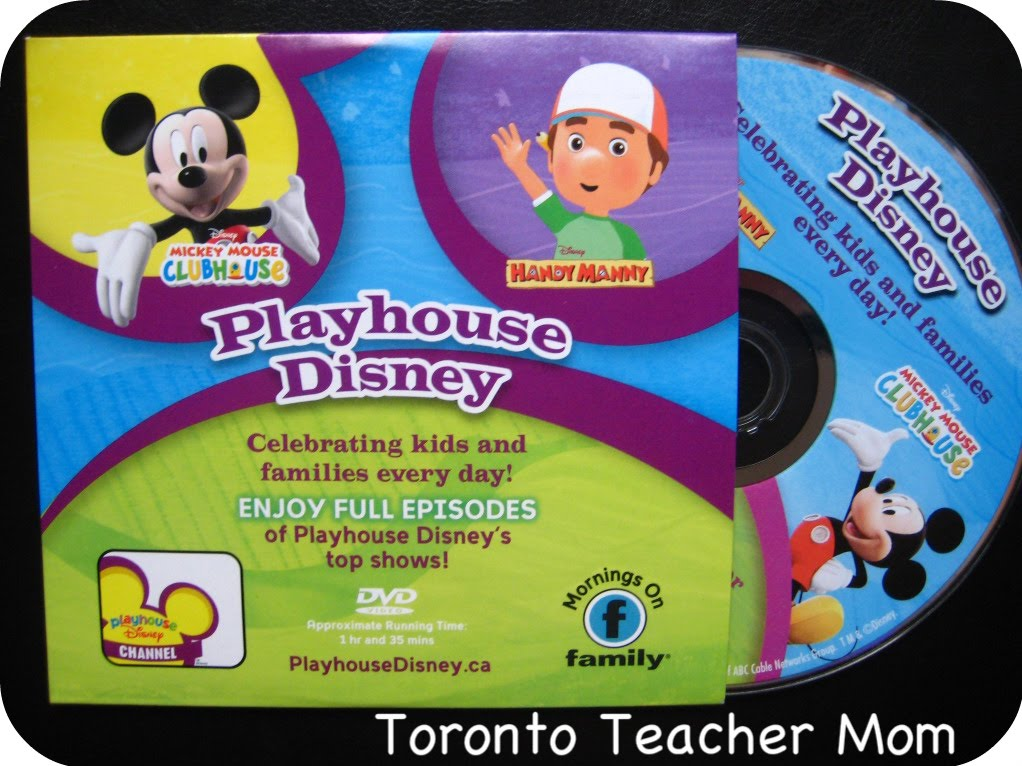 Playhouse Disney Canada Blog Tour With Giveaway Toronto Teacher Mom