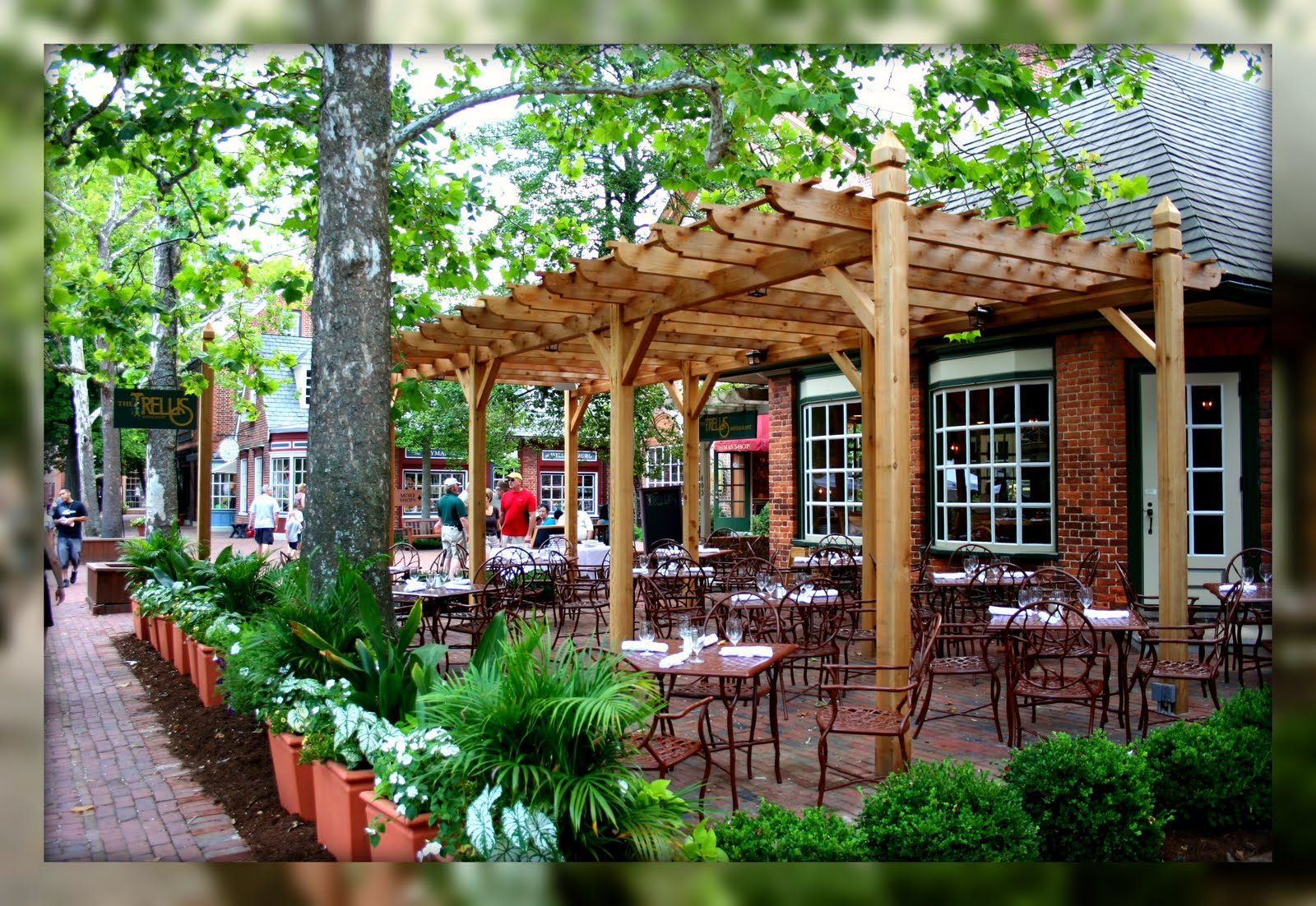 Living in williamsburg virginia the trellis restaurant