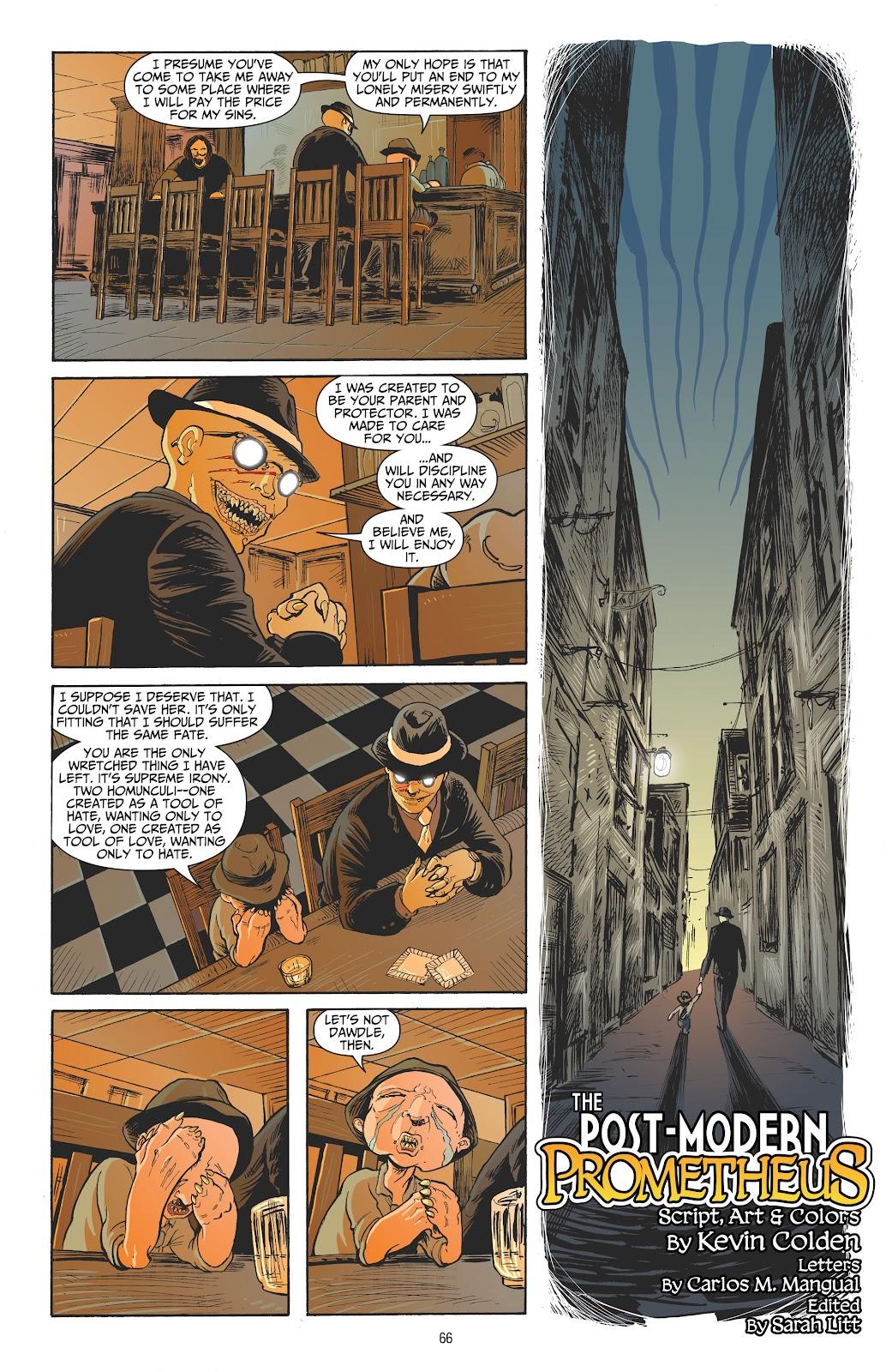 Read online Strange Adventures (2014) comic -  Issue # TPB (Part 1) - 63
